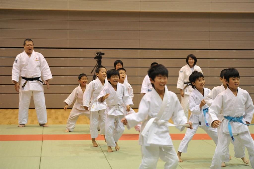 スポーツひのまるキッズ中国小学生柔道大会より