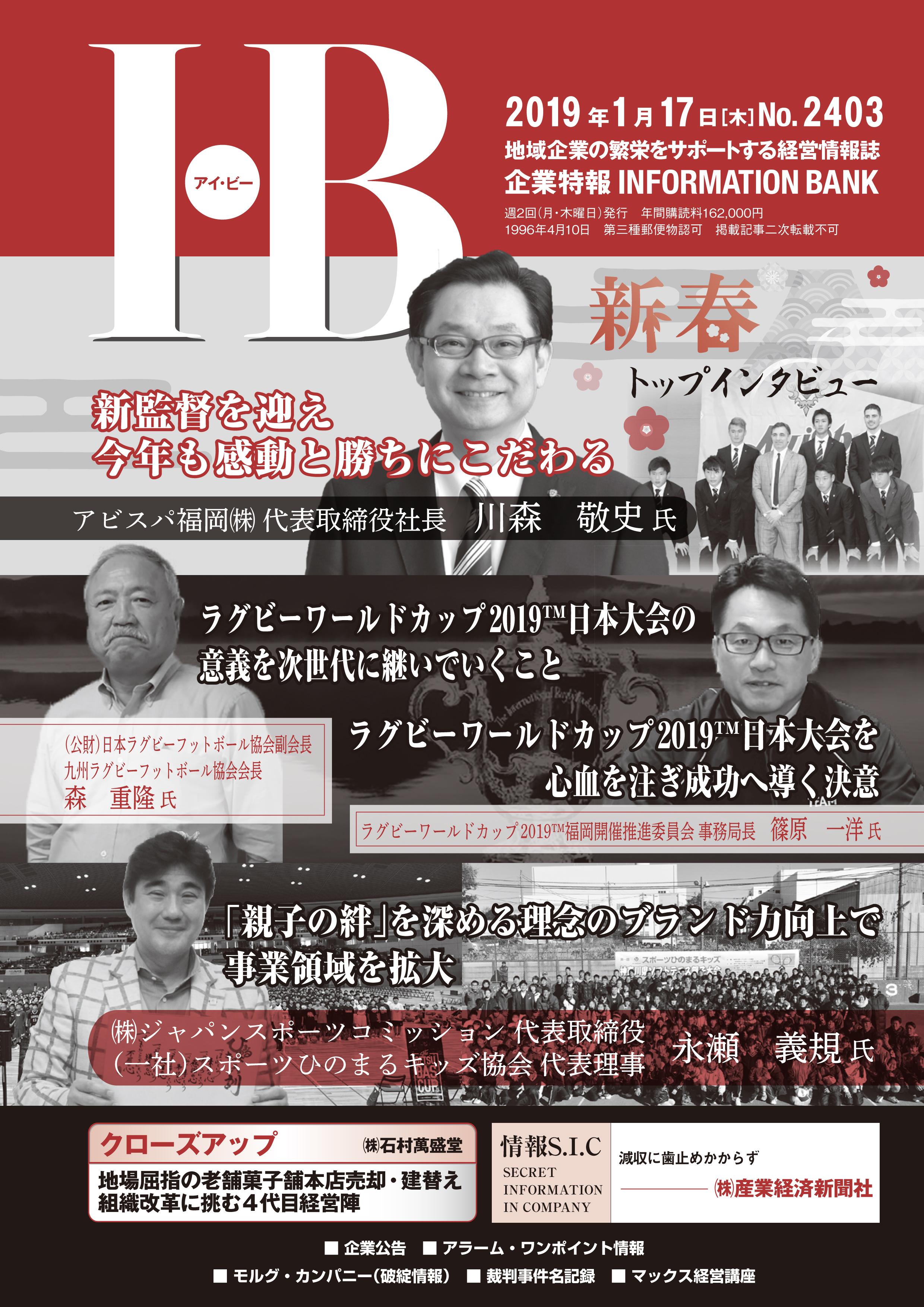 データマックス「IB」表紙